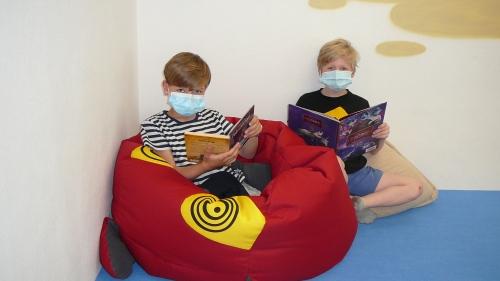 Třeťáci v městské knihovně