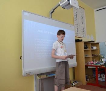 Prezentace ročníkových prací - 5. ročník