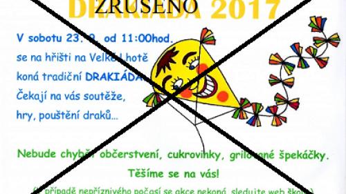 DRAKIÁDA 2017 - ZRUŠENA