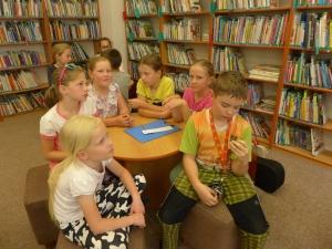 Školní klub v knihovně
