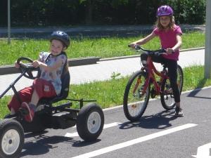 Školní družina na dopravním hřišti