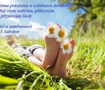 Krásné prázdniny :)